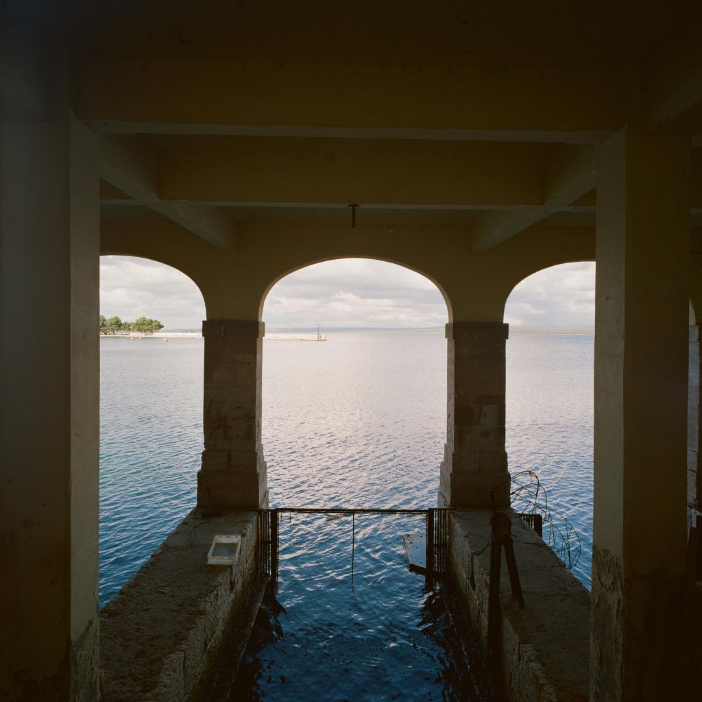 Boathouse, Brijuni, 1993