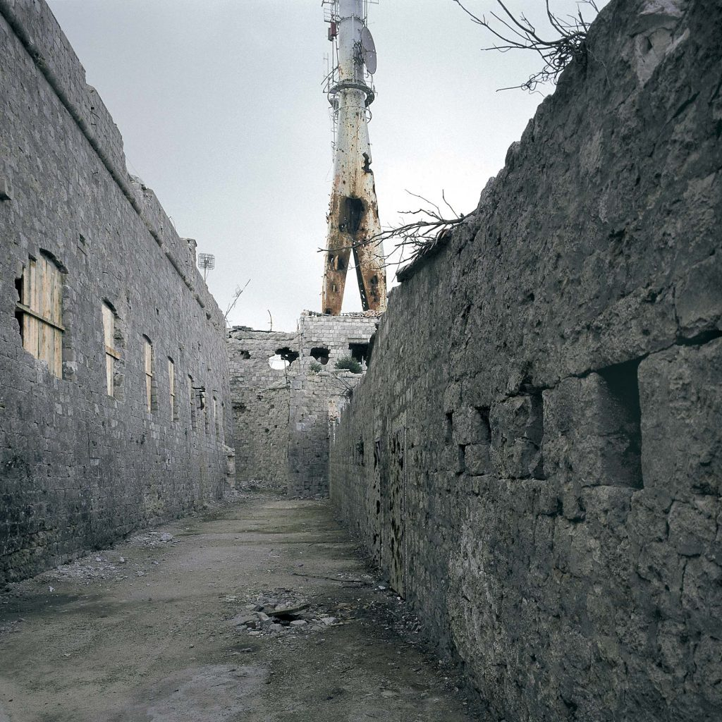 IMPERIAL FORT ON MOUNT SRĐ, November 1992