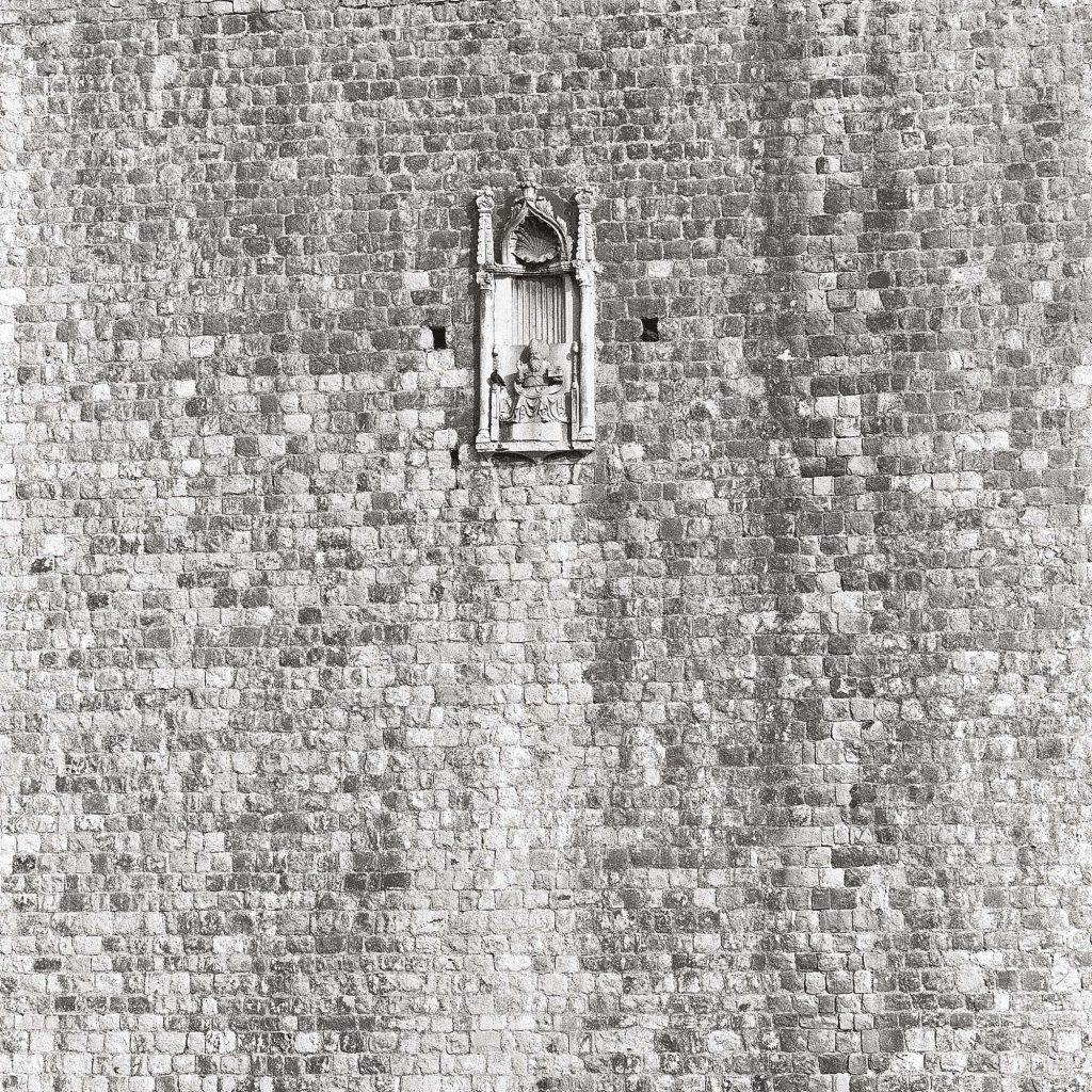 ST BLASIUS, on the city walls, July 1989