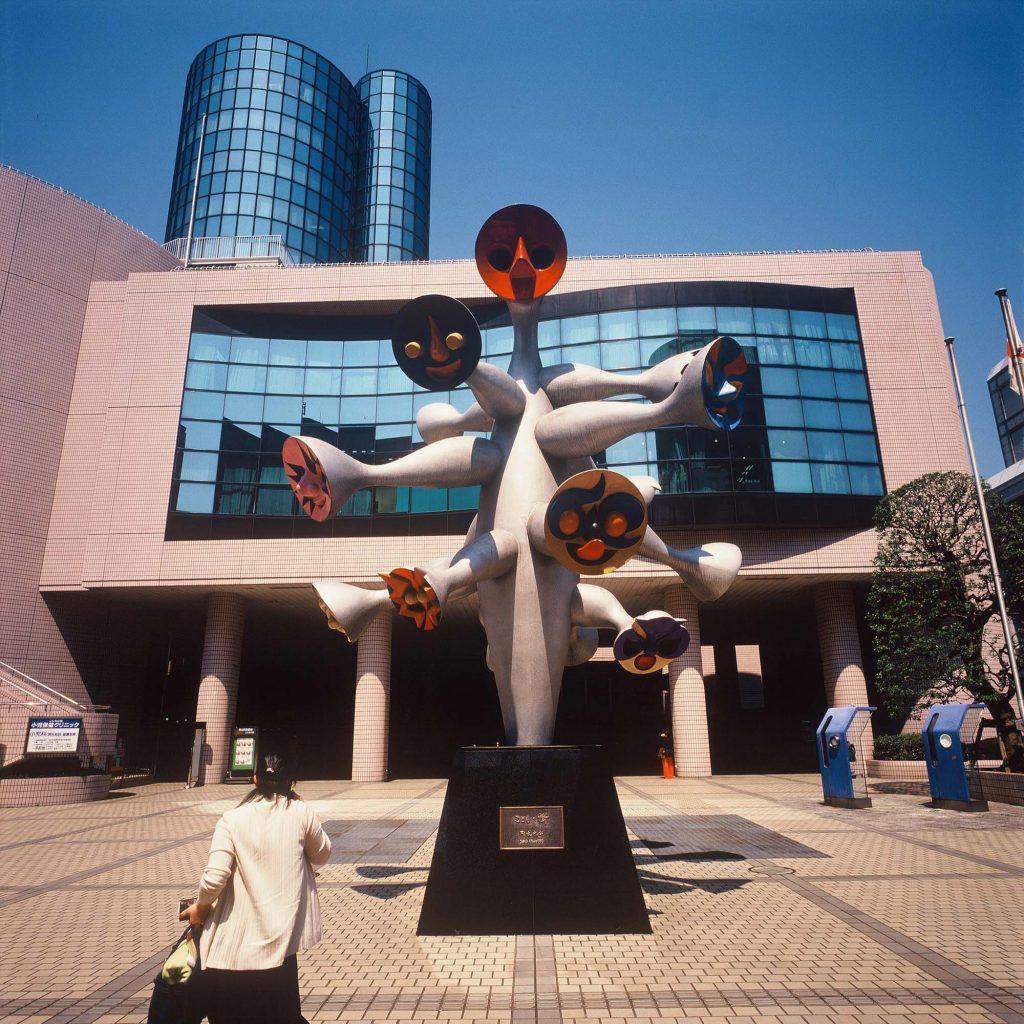 Skulptura slavnog umjetnika Taro Okamota