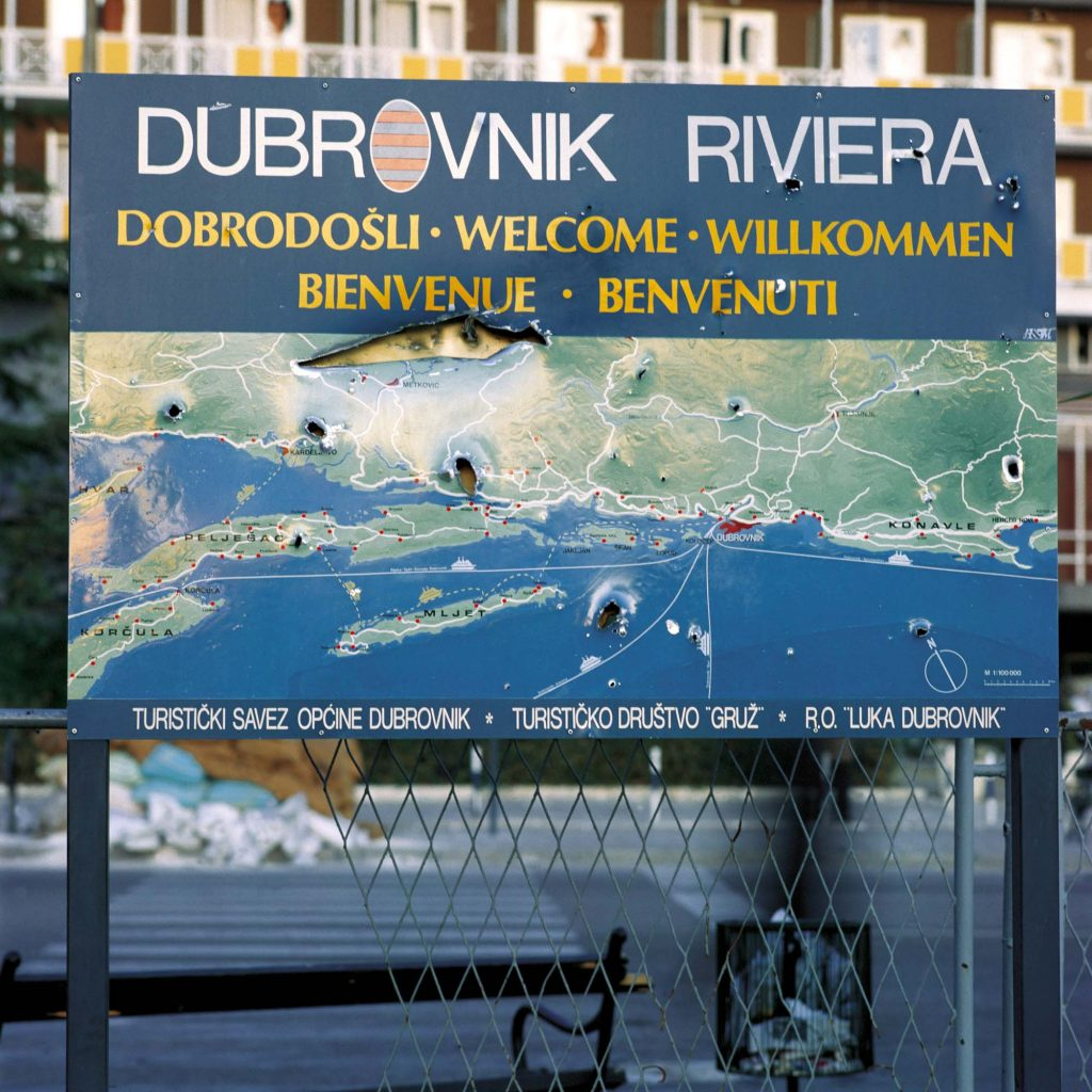 THE PORT OF GRUŽ, DUBROVNIK, DECEMBER 1991