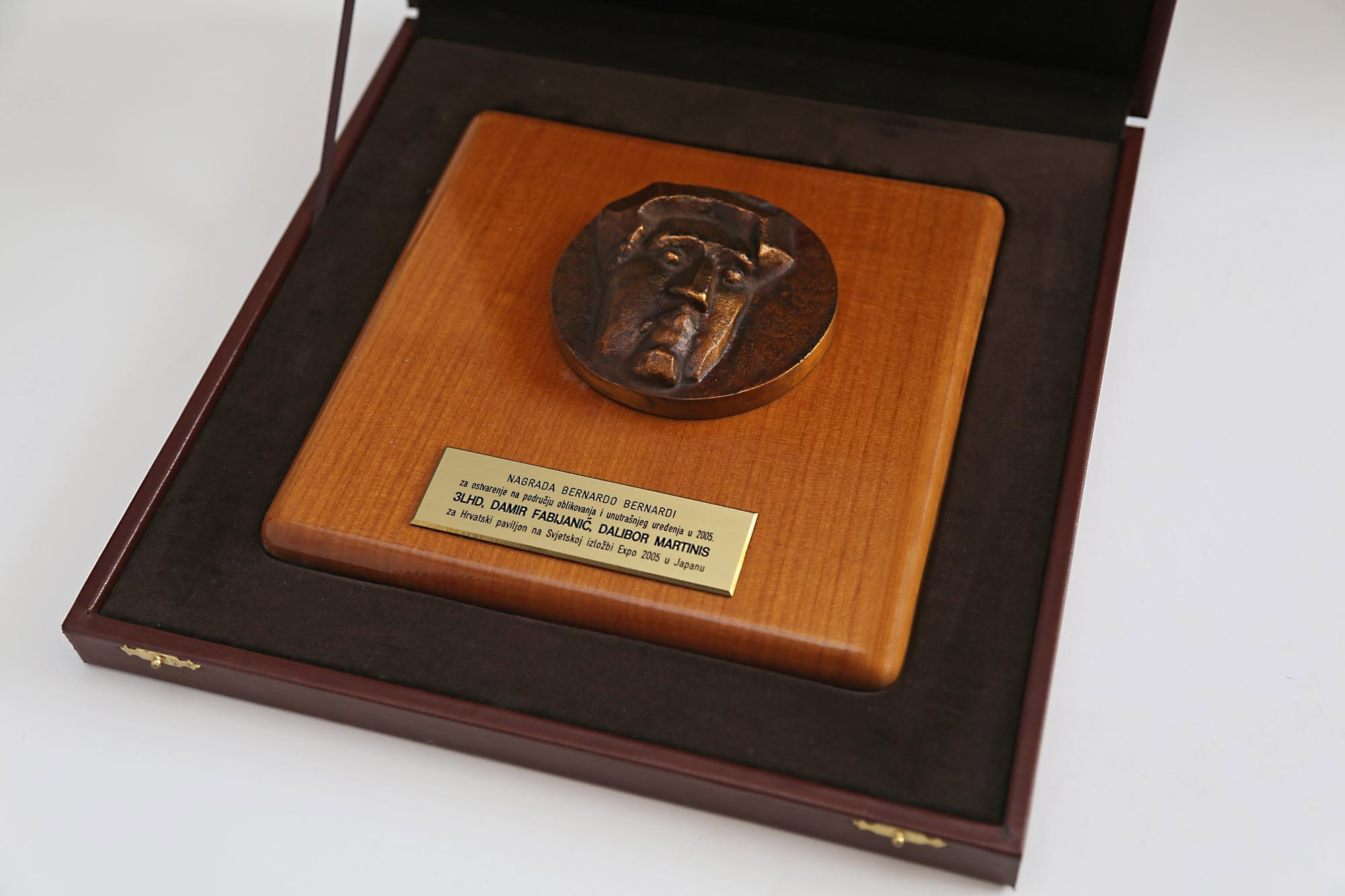 The Award from the <em>Croatian Association of Architects</em> for EXPO 2005, Aichi (Japan)
