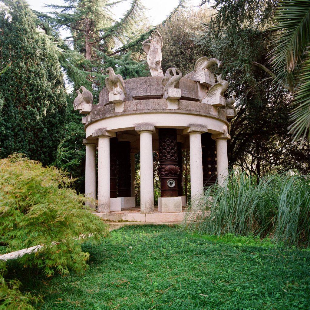 Paviljon, Brijuni, 1993
