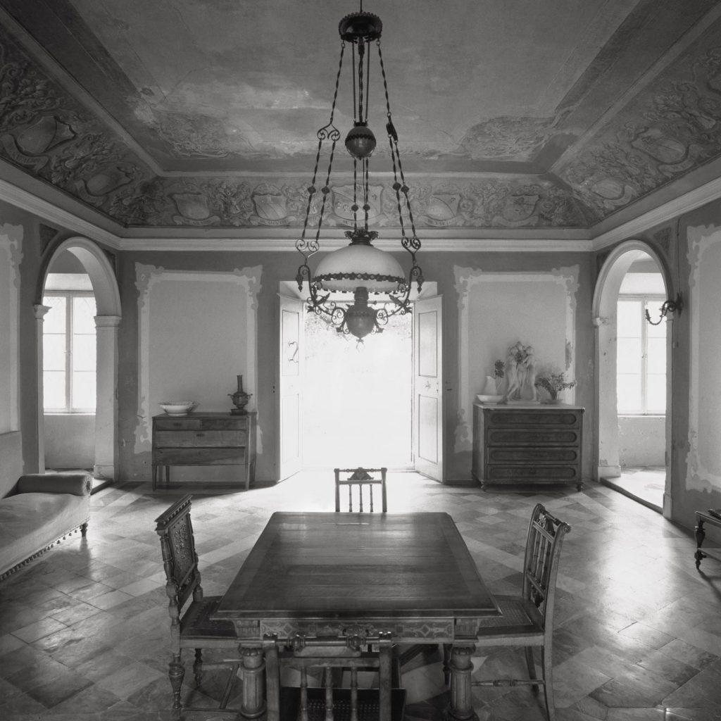 Gruž, the Gradić villa, the hall on the ground floor