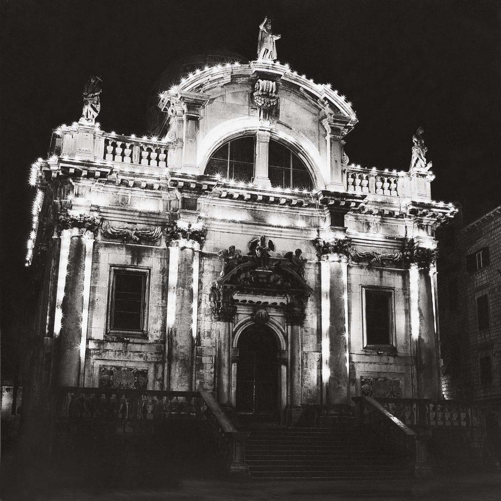 SV. VLAHO, noću, o Božiću, siječanj 1990.