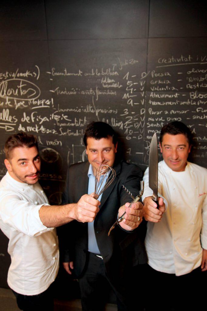 Jordi, Josep i Joan Roca